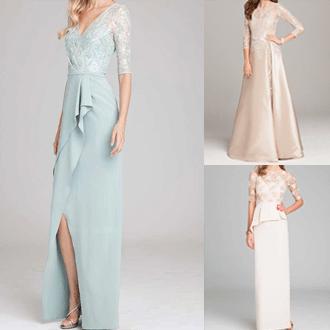 明るい色のドレス