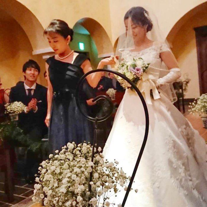 【結婚式母親の高級ドレス】「母親にふさわしい」と「おしゃれ」が同時に叶う!M&Vのブライダルマザードレス®︎L-74