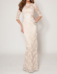結婚式の新婦の母の服装|60代前半|代々木ヴィレッジ|フォーマルドレスL-54