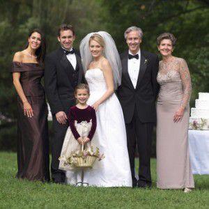 結婚式のお母様の衣装、高級レンタルフォーマルドレスならM&V