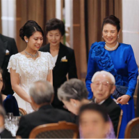 雅子様   結婚式の母親ドレス M&V for mother