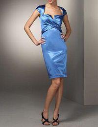 フォーマルドレスレンタル E-64 Ruched Stretch-Satin Dress