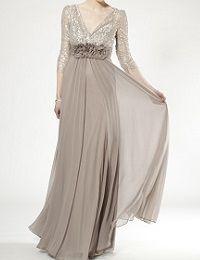 結婚式の新郎の母の服装|ザ・リッツ・カールトン東京|フォーマルドレスL-13
