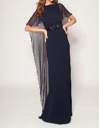 結婚式の新婦の母の服装|オテル・ドゥ・ミクニ|フォーマルドレスL-51