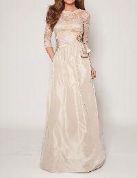 結婚式の新郎の母の服装|リッツカールトン|フォーマルドレスL-55