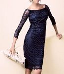 フォーマルドレスレンタル E-103 Illusion beaded Dress