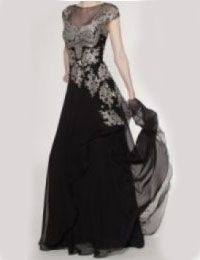 結婚式の新婦の母の服装|アンダーズ東京|フォーマルドレスL-57