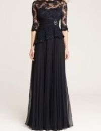 結婚式の新郎の母の服装|軽井沢ホテルブレストンコート|フォーマルドレスL-64