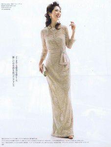 母親向けフォーマルドレスとして雑誌「The Wedding dress」にメディア掲載されました! Part4