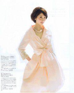 母親向けフォーマルドレスとして雑誌「The Wedding dress」にメディア掲載されました! Part2