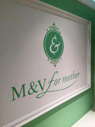 お母様の為のフォーマルドレス、M&V for mother のサインが出来ました♪