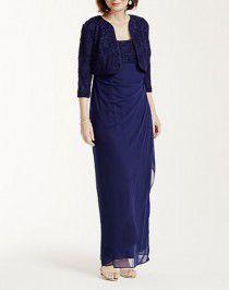 L-62 | 結婚式の母親ドレス M&V for mother