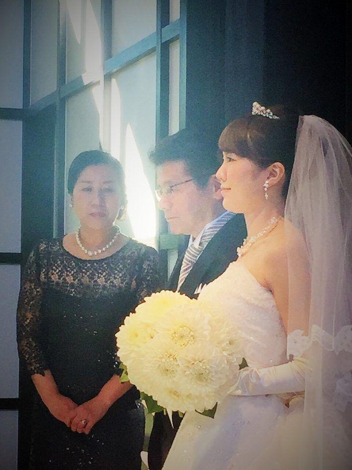新婦の母、クラシカ表参道にて結婚式フォーマルドレスの装い