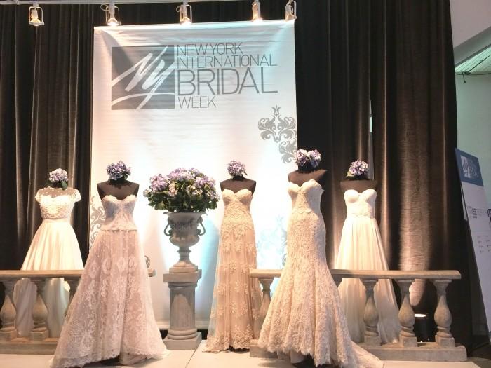 NEW YORK International Bridal Weekの展示会に行ってきました!Vol.1