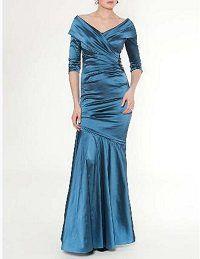 結婚式の新郎の母の服装|ホテルミラコスタ|フォーマルドレスL-34
