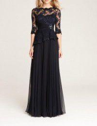 結婚式の新婦の母の服装|クラシカ表参道|フォーマルドレスL-64