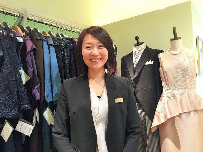 M&Vのスタッフ紹介 「あなたに似合うドレスを選びます!」~宮澤聡美
