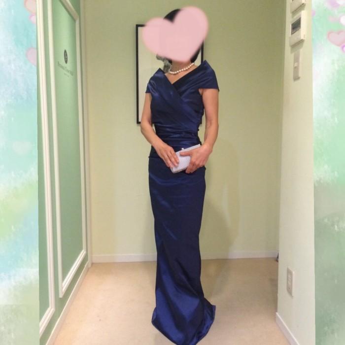 「私も素敵なドレスが着たい!」 予定のドレスはやめてM&Vのフォーマルドレスに決定!
