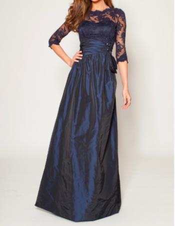 結婚式の新婦の母の服装|コットンハーバークラブ|フォーマルドレスL-72