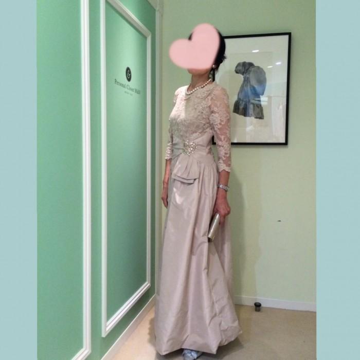 「着物でなくドレスを着て欲しい!」とご主人様の声