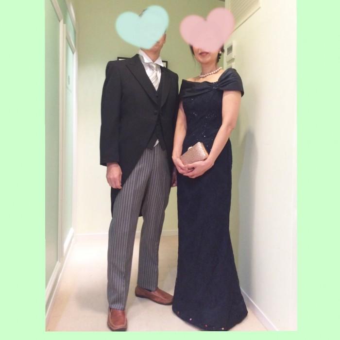 新郎新婦の親御様に人気!華やかなレンタルフォーマルドレス
