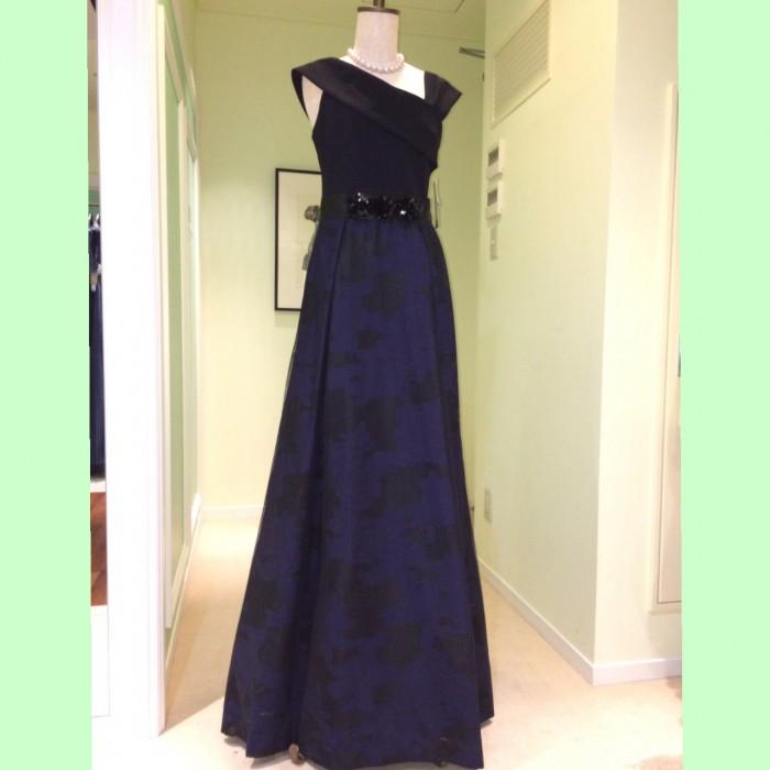 結婚式の新婦の母の服装|リストランテASO|フォーマルドレスL-74
