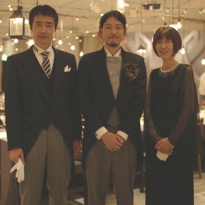 「息子の結婚式で慣れないフォーマルドレス・・・M&Vさんのおかげで安心でした!」と嬉しいお声