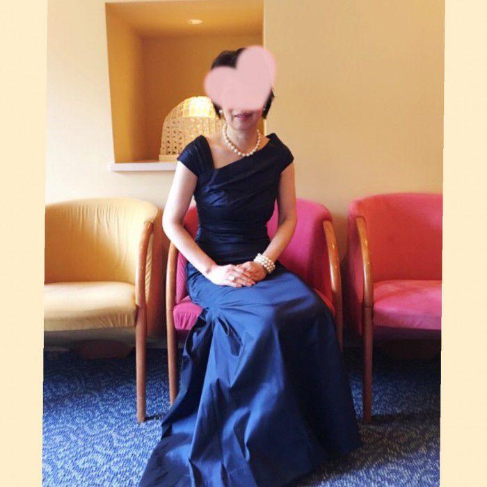 上質、オシャレ、品格の3拍子が揃ったドレスを身に纏いたい!その希望が叶ったドレスは最高でした!