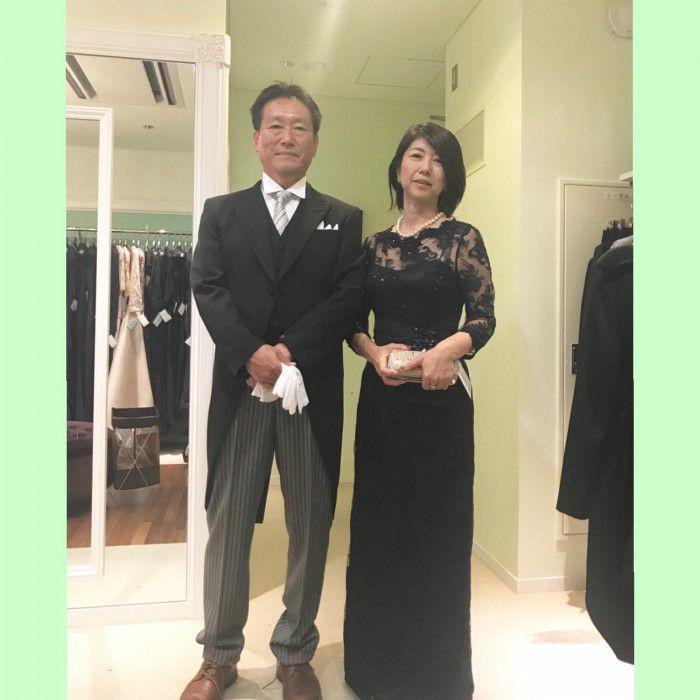 レンタルに見えない自分に似合うフォーマルドレスの装いを〜新郎新婦のお母様ご試着ラインナップから