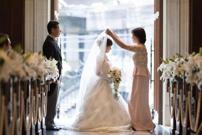 結婚式当日の様子 | 結婚式の母親ドレス M&V for mother