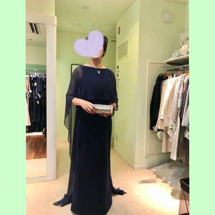 NY最新のフォーマルドレス!〜シンプルだからこそカッティングの良さが引き立つドレスがレンタルで着られます!