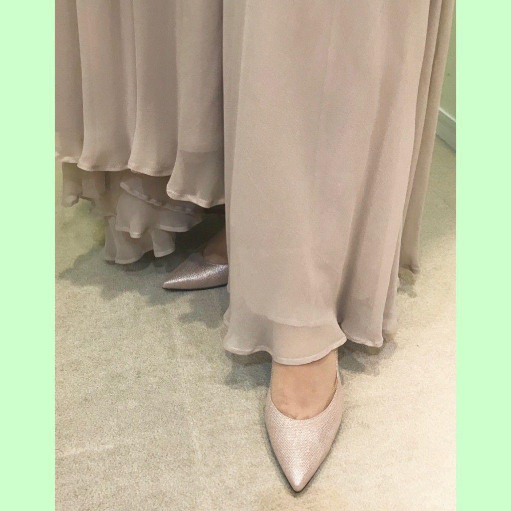 ロングドレスに合わせる靴は?ベストなヒールの高さは?