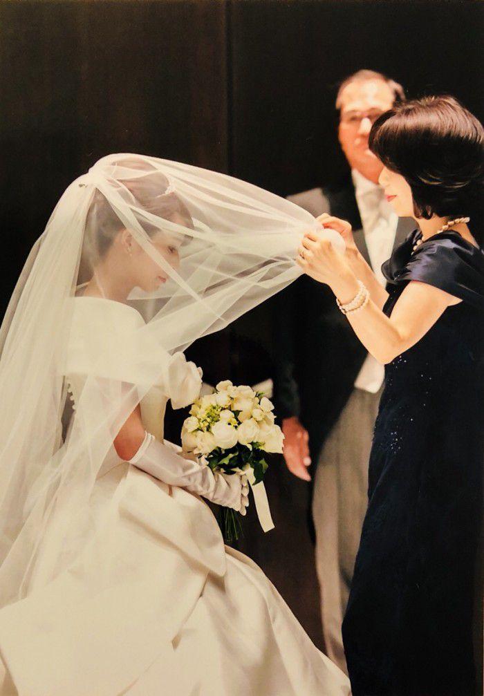 お母様が結婚式でロングドレスを選んだ理由は「自分の着たいものを着る」