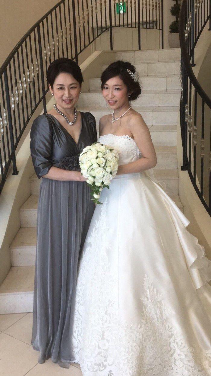 先川原様4 | 結婚式の母親ドレス M&V for mother