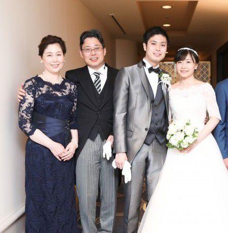 元橋様② | 結婚式の母親ドレス M&V for mother