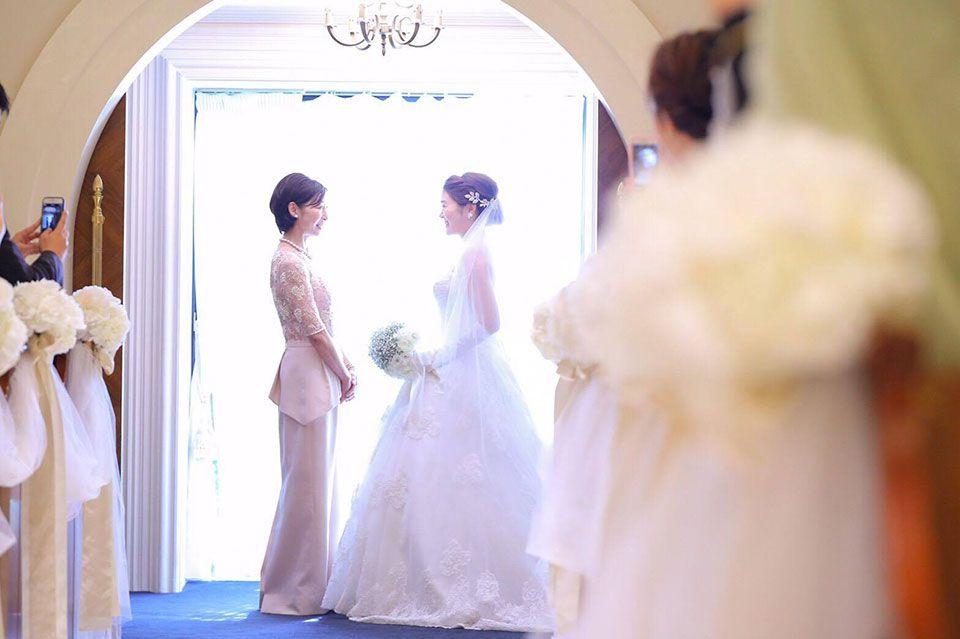 ブライダル写真 | 結婚式の母親ドレス M&V for mother