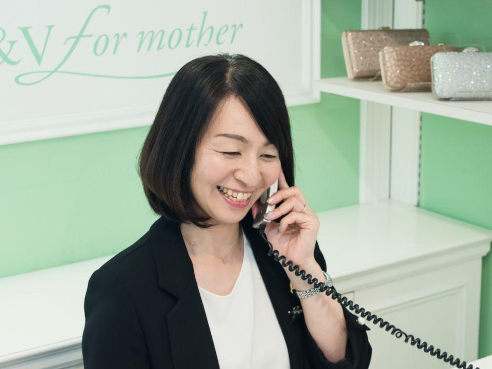 スタッフ一同 | 結婚式の母親ドレス M&V for mother