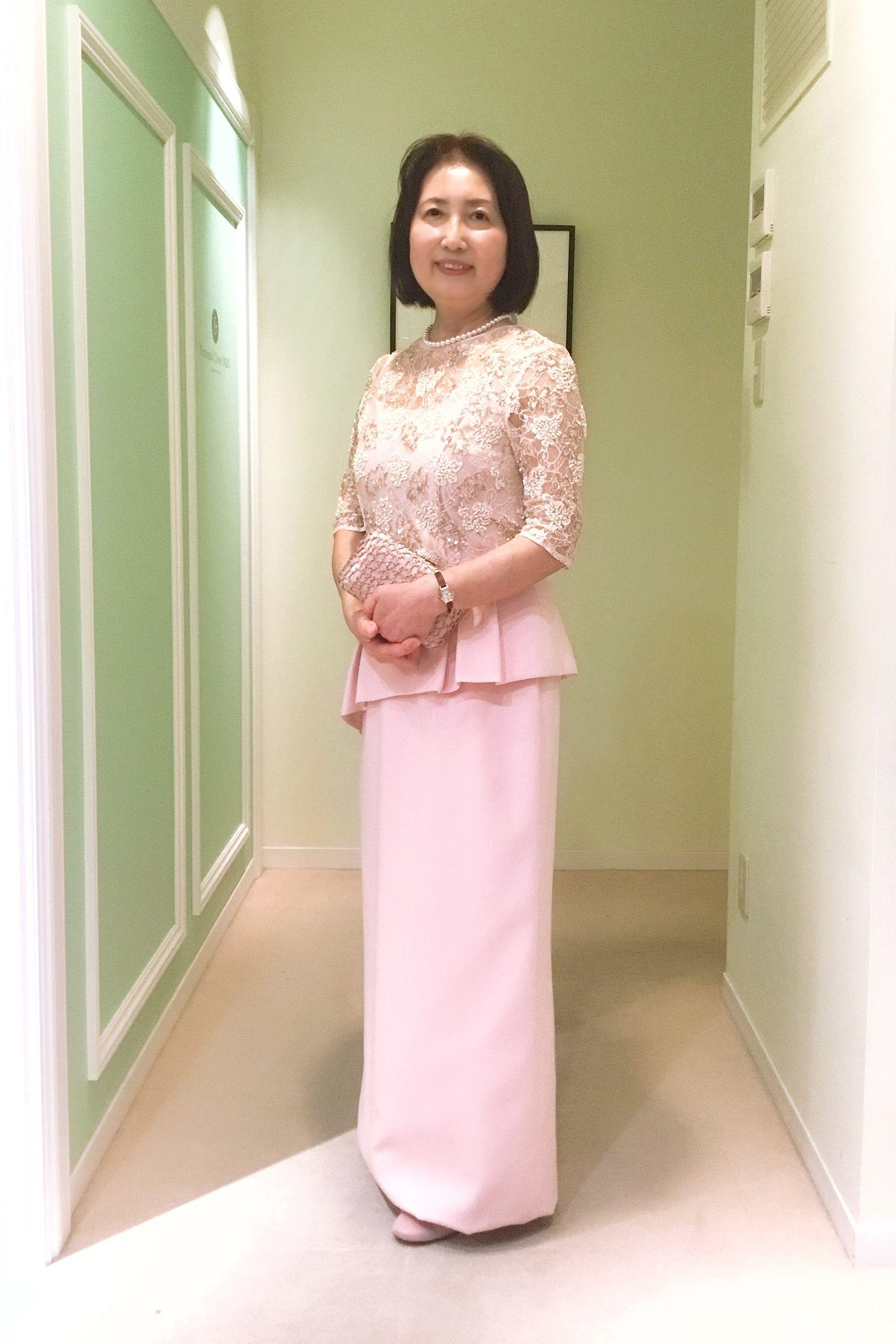 ae432f47fd21b  結婚式母親の高級ドレス ナチュラルでカジュアルモダンな結婚式に