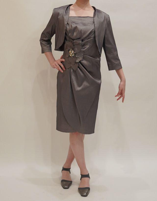 M&V for mother DS10a 結婚式の母親ドレス・フォーマルドレスのレンタル
