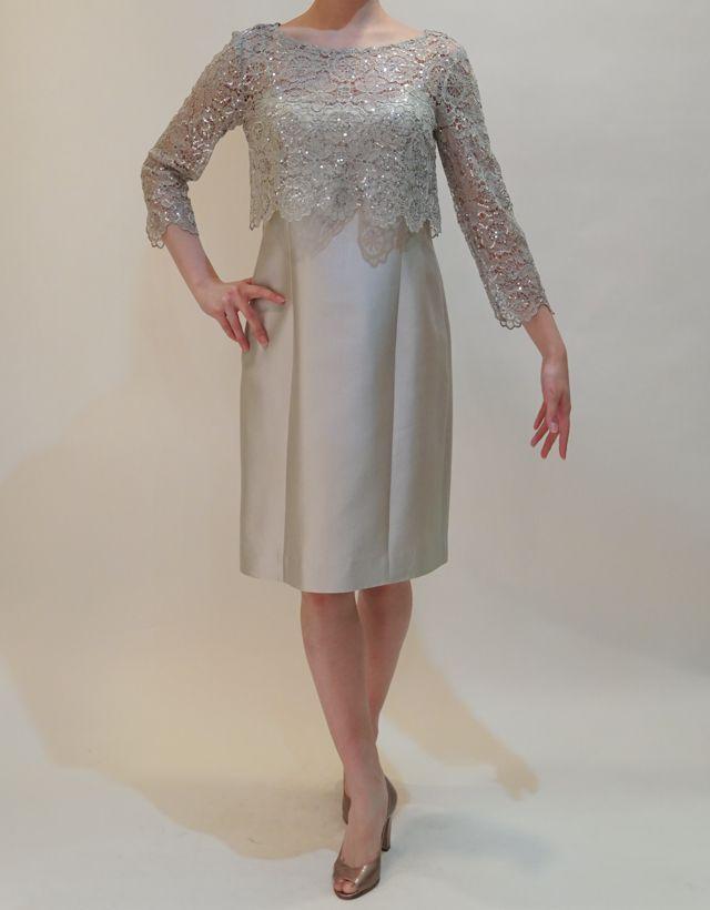 M&V for mother DS16a 結婚式の母親ドレス・フォーマルドレスのレンタル