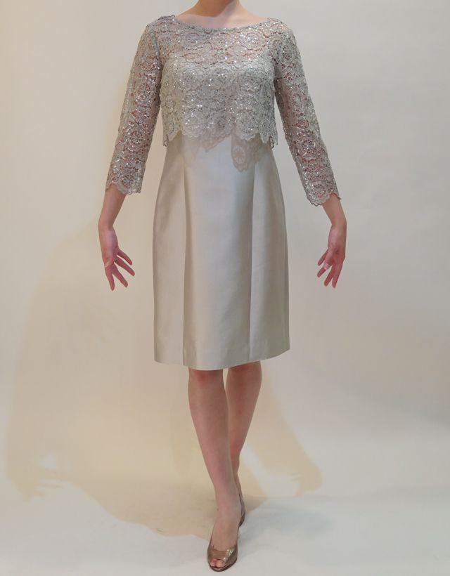 M&V for mother DS16b 結婚式の母親ドレス・フォーマルドレスのレンタル