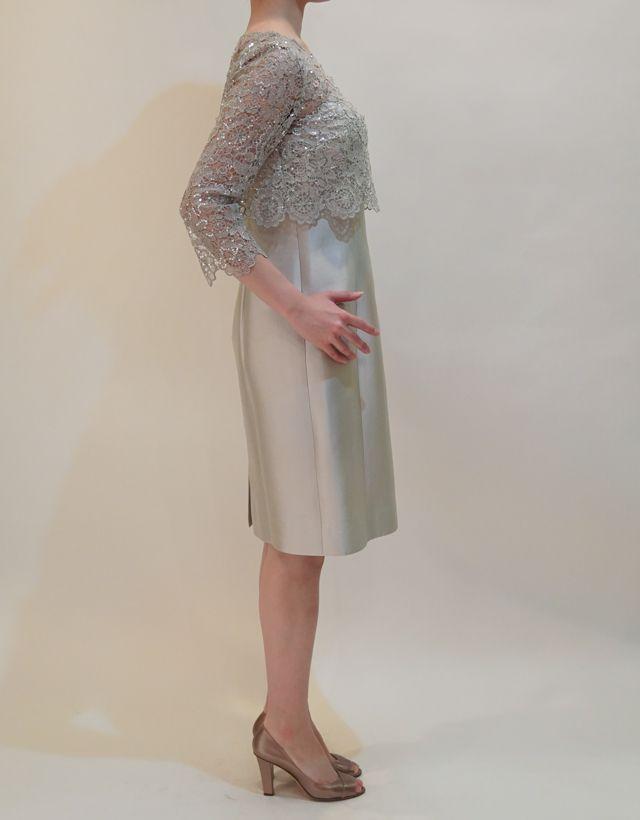 M&V for mother DS16c 結婚式の母親ドレス・フォーマルドレスのレンタル
