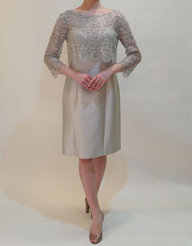M&V for mother DS16k 結婚式の母親ドレス・フォーマルドレスのレンタル