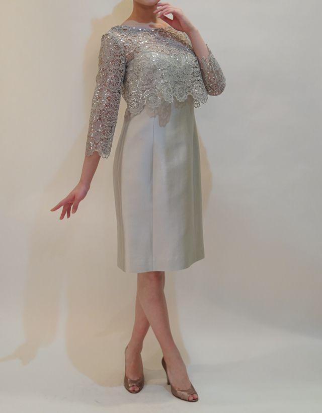 M&V for mother DS16n 結婚式の母親ドレス・フォーマルドレスのレンタル
