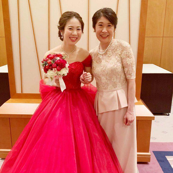 【結婚式母親の高級ドレス】「これが着たい!」第一印象で迷わず選びました!花嫁の母からの支持率No.1ブライダルマザードレス®︎L-65