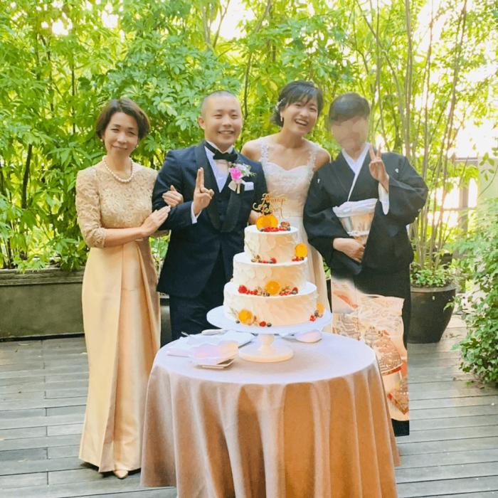 【結婚式母親の高級ドレス】上品で格式あるフォーマルロングドレスなら黒留袖とも好相性で安心♪