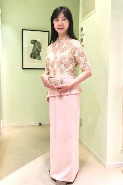 【結婚式母親の高級ドレス】ママに着てほしいのは華やかなドレス!| 結婚式の母親ドレス M&V for mother