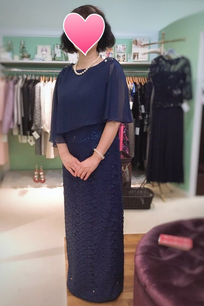   結婚式の母親ドレス M&V for mother