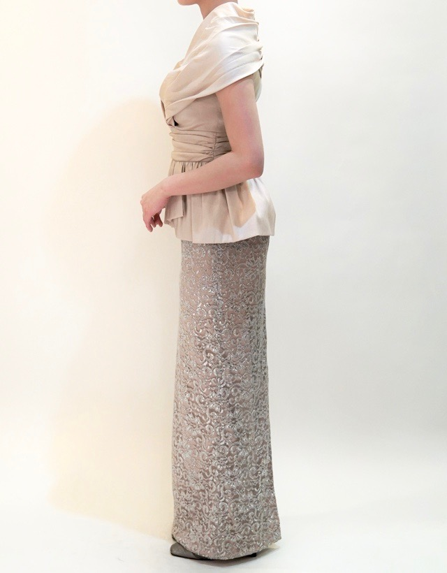 M&V for mother L20f 結婚式の母親ドレス・フォーマルドレスのレンタル