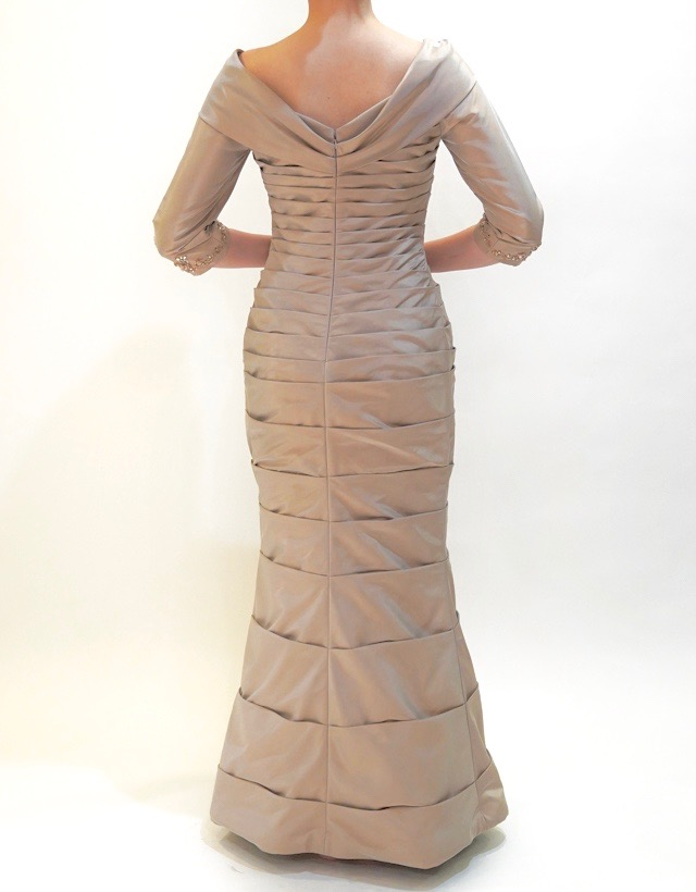 M&V for mother L46e 結婚式の母親ドレス・フォーマルドレスのレンタル